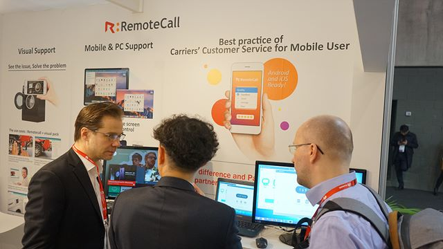 RemoteCall, remotely supports PC / Mobile / Sites.