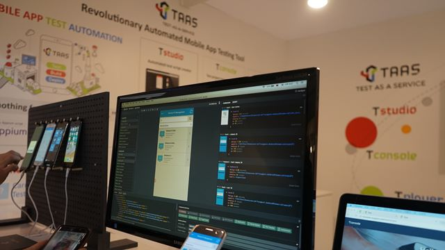 TStudio automatically generates app test script.