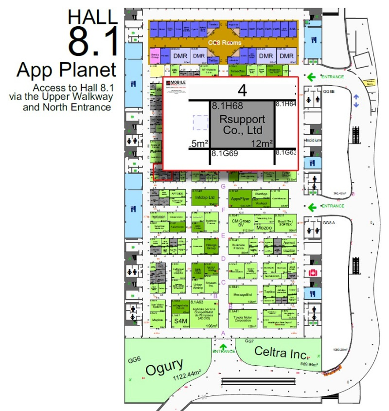 mwc booth map