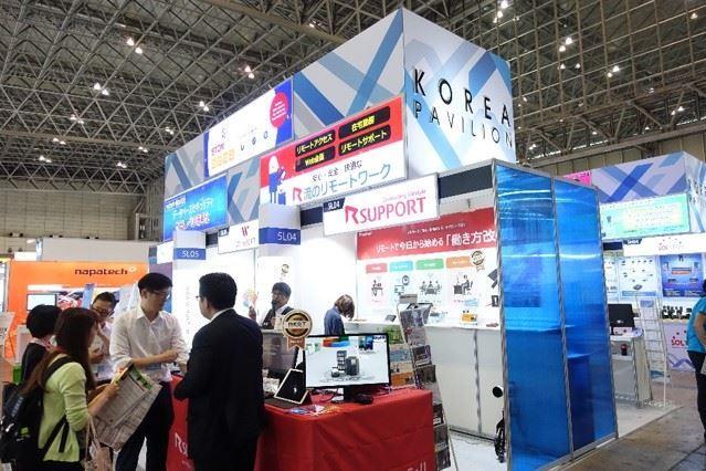 Basic Exhibition Booth : Interop tokyo 참가 후기 korean