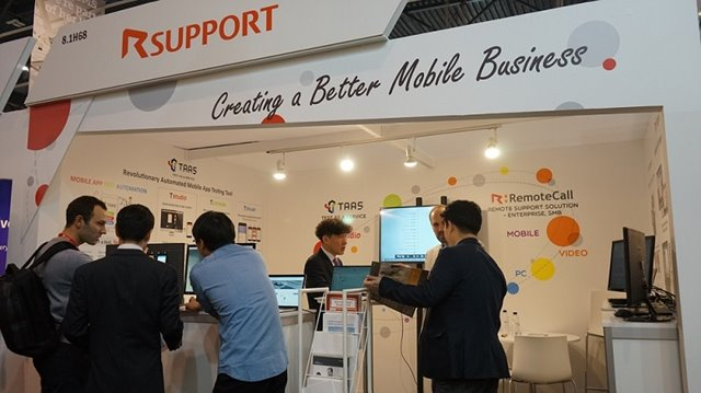 mwc booth